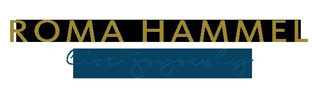Roma Hammel | Live Joyously Logo